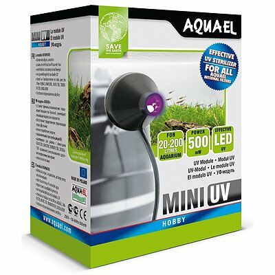 AQUAEL Mini Uv Led Sterilizer  for all Aquael internal filters Nr.Art 109521