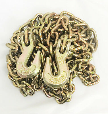 """1/4"""" X 12' Tow Chain Automotive Truck Towing Log Chain"""