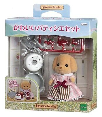 Sylvanian Families Epoch Pastry's Sweets Cake set