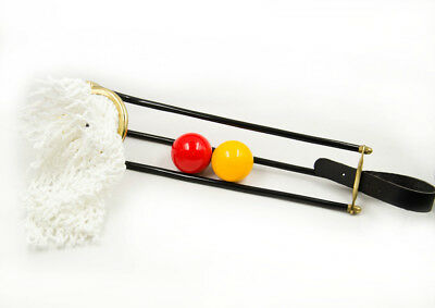 Brand New Pool Table Accessories Empire Rail Set with nets Brass