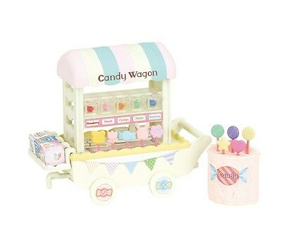 Sylvanian Families Epoch Shop  Colorful Candy Wagon
