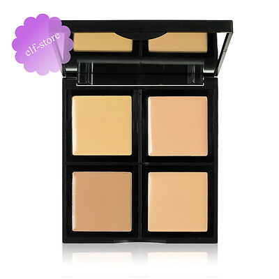 Elf Cosmetics Foundation Palette 4 Shades cover and conceal contouring