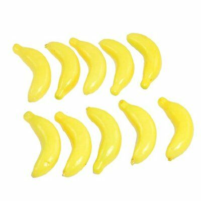 Sunny Hot Sale! Yellow Fake Foam Bananas Decorative Party Artificial Fruits