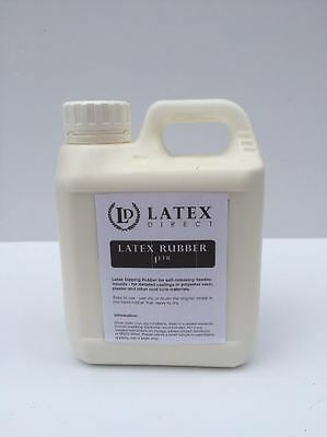 1 Litre Liquid Latex Rubber Mould Making / Dipping / Crafts/ Mask - *SKIN SAFE*