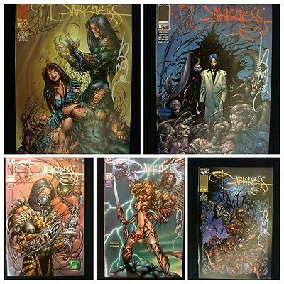 The Darkness Silvestri Ennis Benitez 19 signed books darkness vf-nm Image