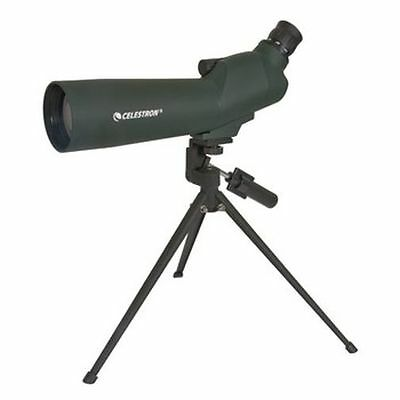 Celestron 60mm Zoom Refractor Powerful Telescope - Angled