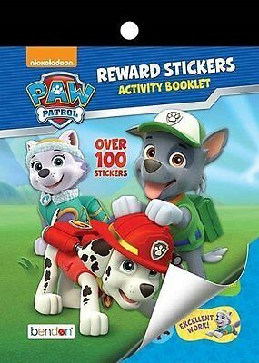 Paw Patrol Reward Stickers and Activity Booklet!  Great for the Car!  Stickers