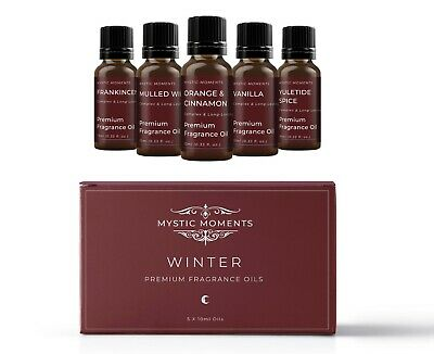 Mystic Moments Fragrant Oil Starter Pack - Winter 5 x 10ml (SP10FOWINT)