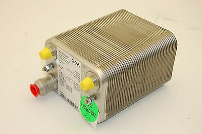 GEA NP 3-TIO-40/40 Nickle Plated Heat Exchanger, 170mm x 120mm x 200mm (amm)