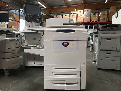 Xerox DocuColor 242 Digital Production Printer Scanner Copier Fiery 252 260