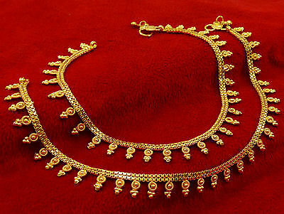 New Goldplated Women Chain Ankle Barefoot Beach Anklet Bracelet Payal Jewelry