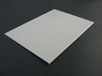 """1/32"""" Thick  Aluminum Sheet - 8"""" x 10 5/8"""" with 1/4"""" flange (Reflow Oven Tray)"""