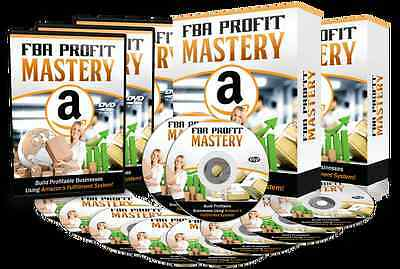 Build Profitable Businesses Using Amazon's Fulfillment System- 23 Videos on 1 CD