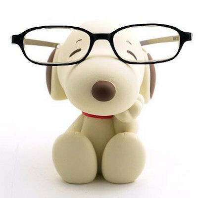 Cute Snoopy Eyeglasses Stand Ships from Japan Sepia Color