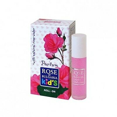 "Perfume Roll-on for Children ""Rose of Bulgaria - Kids"" 10ml with Pure Rose Water"