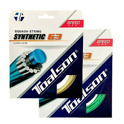 Toalson Synthetic 63 Squash String Set 18 / 1.20mm