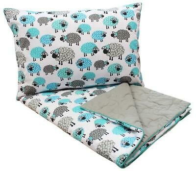 ELEPHANT NATURAL MERINO BABY DUVET 120 x 90 cm NURSERY WOOL & COTTON 8tog