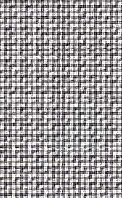 8 A4 Sheets of Black and White Gingham Card 260gsm New