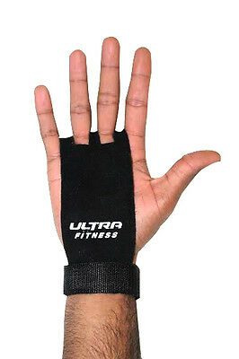 Crossfit Grips Leather Palm Protectors Gy Hand Grips Guards Gym Gloves