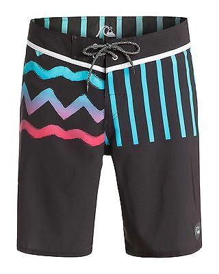 "NEW QUIKSILVER™  Mens Ghetto Remix 19"" Boardshort Surf Board Shorts"
