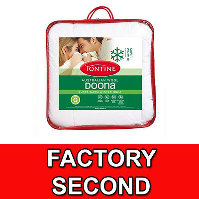 TONTINE Factory Second Australian Wool Winter Weight Quilts WARM - Made in AUS