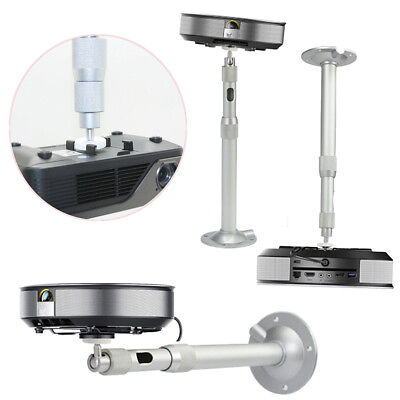360° Adjustable Extendable Wall Ceiling Mount Bracket For DLP LCD Mini Projector