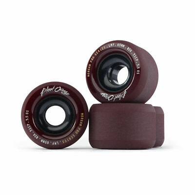 Blood Orange Morgan Pro Maroon 65mm 82a Longboard Skateboard Wheels - Set Of 4 B