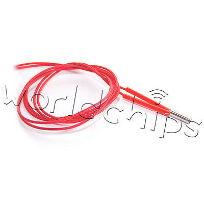 2PCS 12V 40W Ceramic Cartridge Wire Heater For Arduino 3D Printer Prusa Reprap