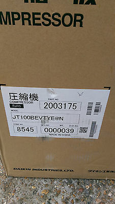 Daikin Compressor JT100BEVTYE  (Part No:2003175) NEW