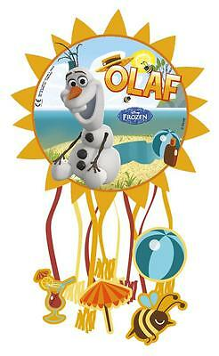 Frozen Olaf Summer Party Pull Piñata Bag