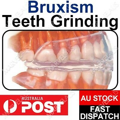 Stop Teeth Grinding Dental NIGHT GUARD Custom MOUTHGUARD Moldable BRUXISM TMJ