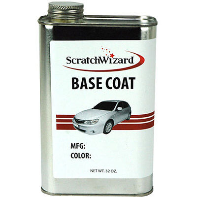 16, 32, or 128 oz. Paint for Cadillac: Black WA8555