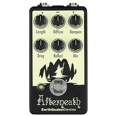 EarthQuaker Devices Afterneath Reverberation Machine Guitar Effect Pedal - NEW!