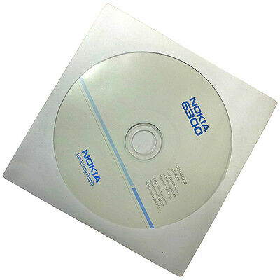 Nokia 6300 Original Software CD-ROM PC Suite Synchonisations-Software Neu & OVP