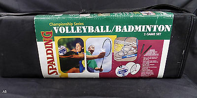Spalding Volleyball/badminton Set Championship Series 2 Game Set