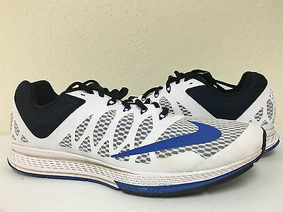 e7c05bad2341f Nike Air Zoom Elite 7 Size 10.5 Mens Running Shoes 654443 100 Pre Owned