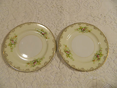 "Meito China (2) 6 1/2"" Bread and Butter Plates"