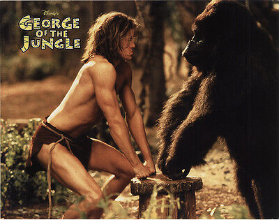 George of the Jungle 1997 Original Movie Poster Action Adventure Comedy