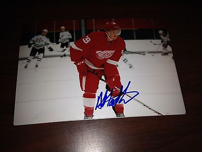Anthony Mantha SIGNED 4x6 photo DETROIT RED WINGS #10