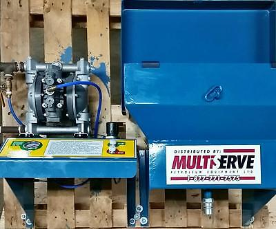 Myers Waste Oil Transfer Pump Station / With Wall Mount Funnel