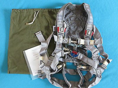 Russian Pilot MiG & SU Parachute Harness IPS-72 for Seat K-36