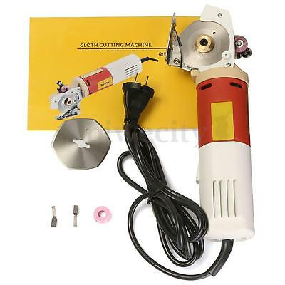 220V 65MM Rotary Blade Electric Fabric Cutter Cloth Cutting Machine Saw Tool