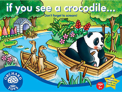 Orchard Toys IF YOU SEE A CROCODILE... Kids/Childrens Number Counting Game BNIB