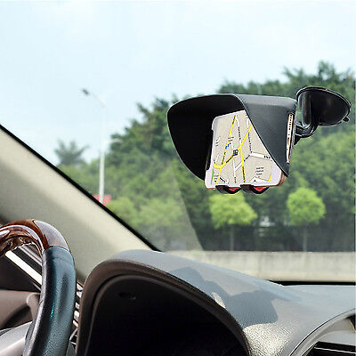TFY Sun Shade & Glare Visor Shield for iPhone 6 and 4.5 to 5.2 Inch Smartphones