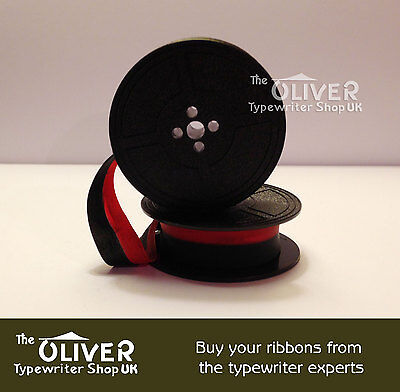Underwood 5 10 18 19 B76  Typewriter Ribbon/spool  (Gr9) Black Or Black And Red