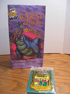 Wendy's Kids Meal Toy from Quest For Camelot Movie - Passport - 1998