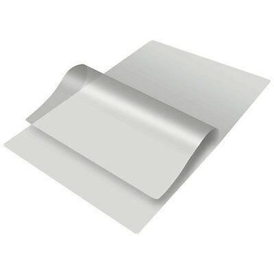 100 x Self Adhesive Backed Laminating Pouches - A5, A4 & A3 - Sticky Back