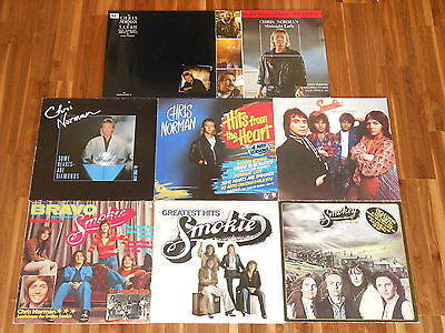 Smokie - Chris Norman - SAMMLUNG - 5 LPs + 3 Maxis - Bright Lights - Changing