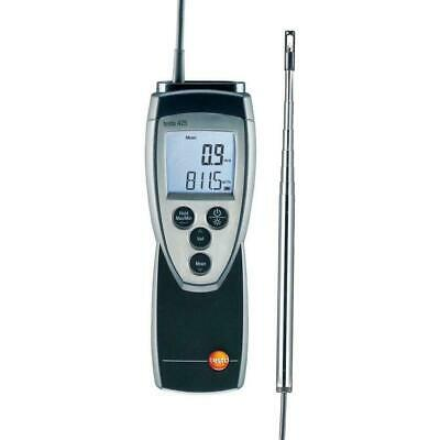 Testo 425 Compact Thermo-Anemometer with Hot Wire Probe (0560 4251)