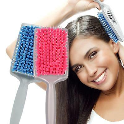 Quick Drying Hair Brush Comb Microfiber Absorbent Care Radiation Protect